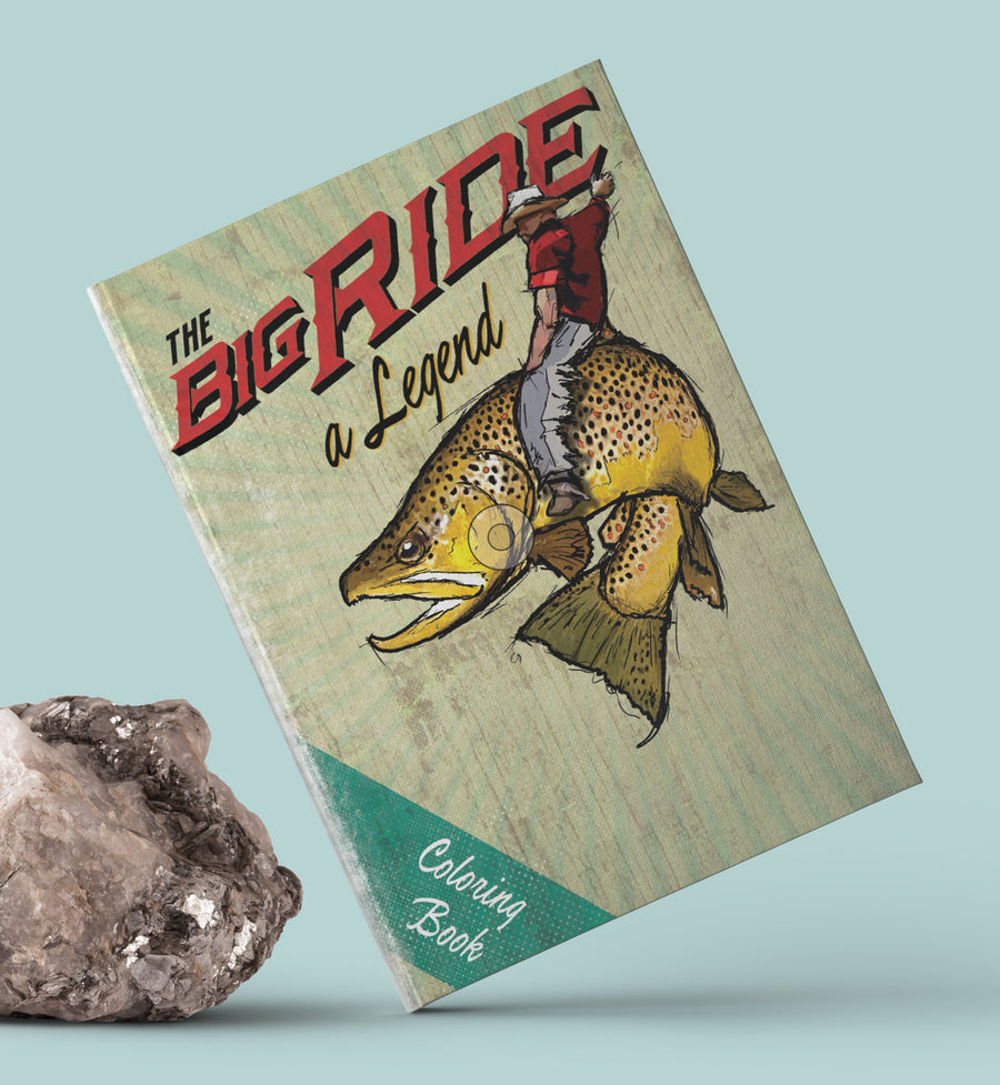 The Big Ride Coloring Book
