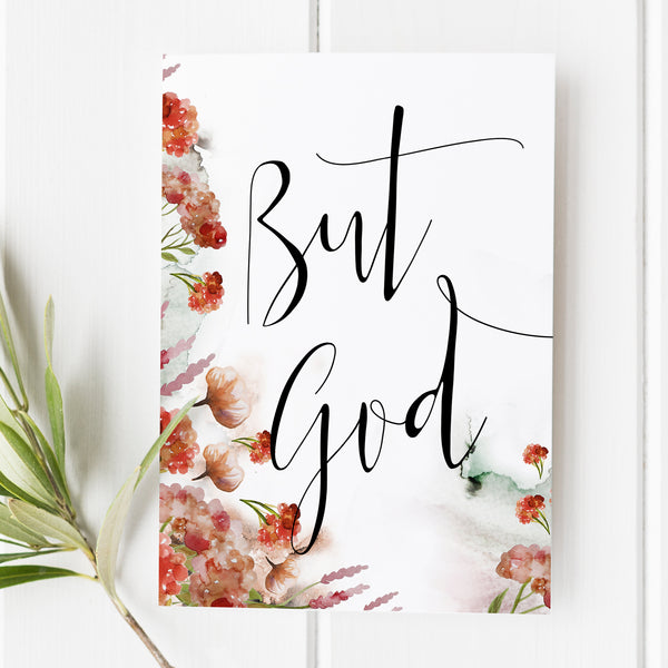 But God - Bible Verse Print