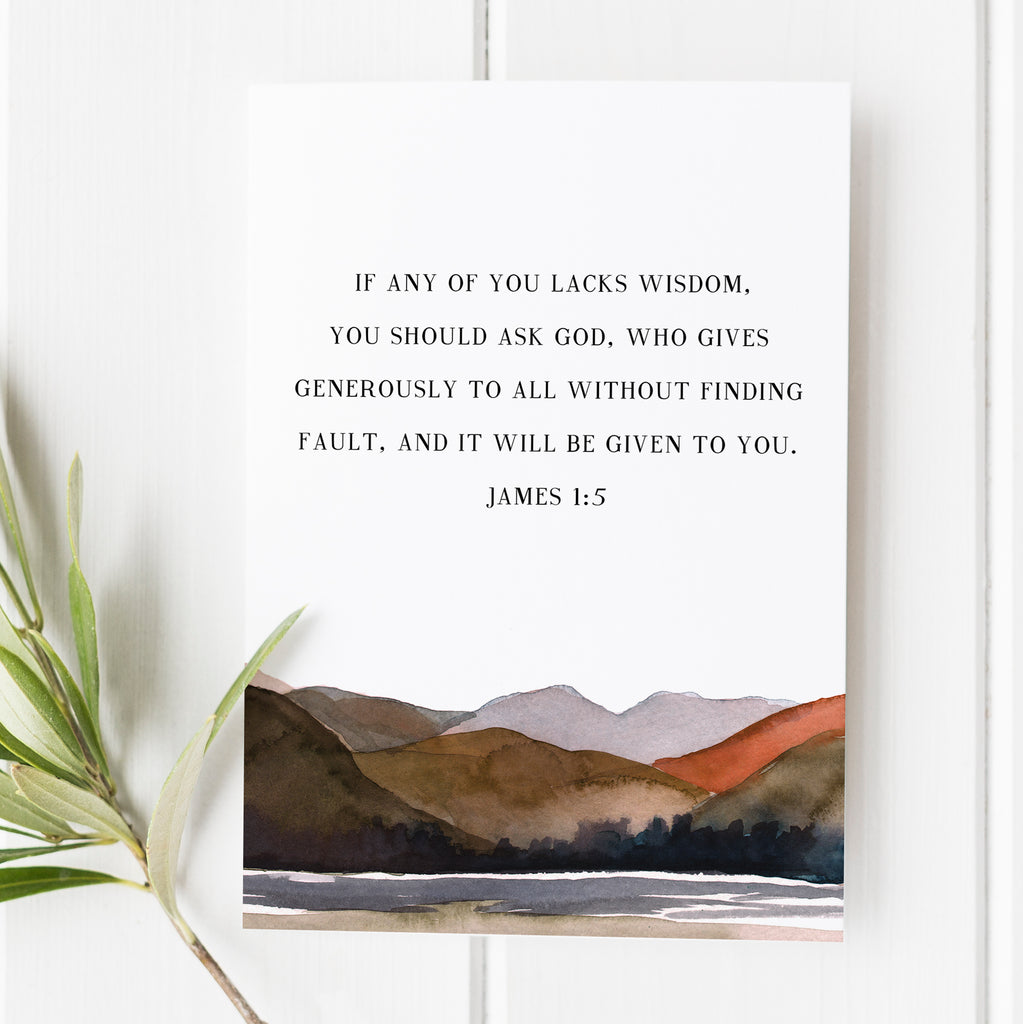 James 1:5 - If Any of You Lacks Wisdom