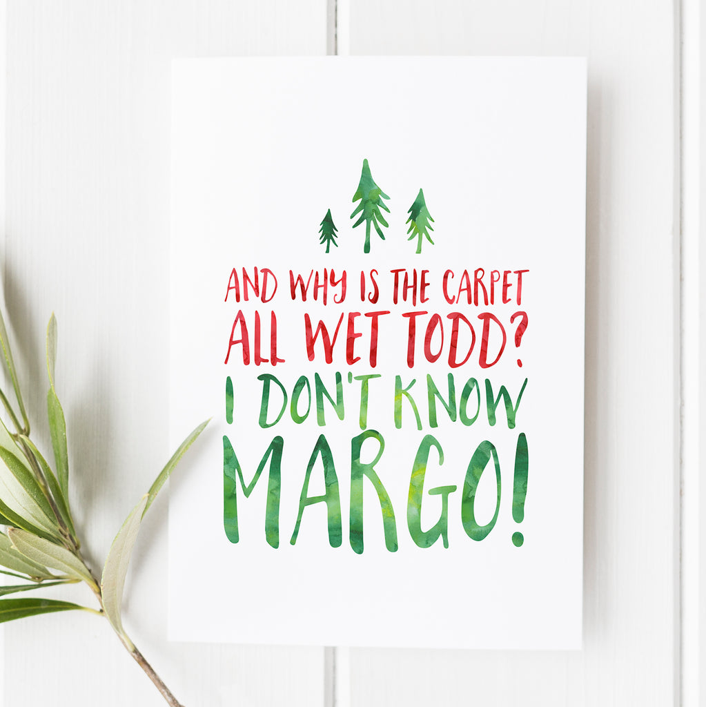 Christmas Vacation No. 10 - Why is the Carpet Wet Todd?