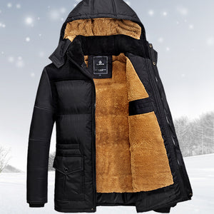 Men's Fall/Winter Coat with Cashmere Interior