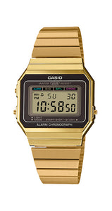 Reloj Casio Collection A700WEG-9AEF extraplano CHAPADO