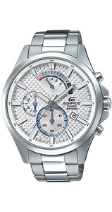 Reloj Casio Edifice EFV-530D-7AVUEF de acero inoxidable, con crono, calendario y sumergible