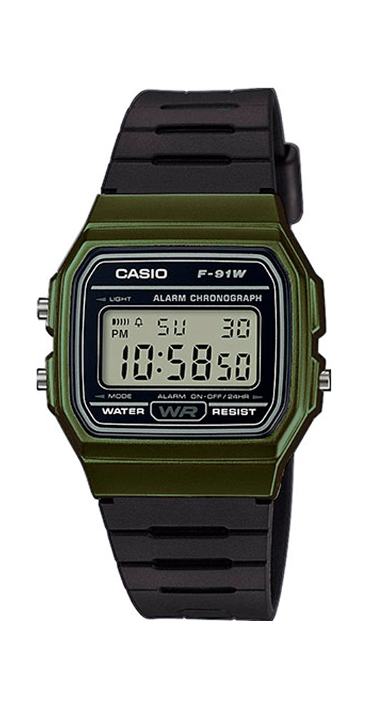 Reloj Casio Collection F-91WM-3AEF