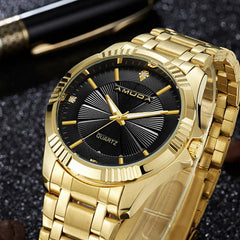 Luxury Gilt Watch