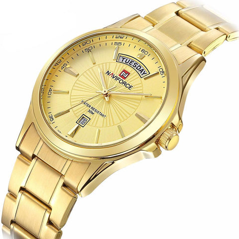Goldish Metal Watch