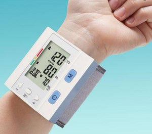 Digital Blood Pressure Monitor with Memory