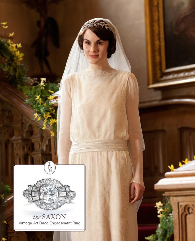 Downton Abbey's Mary Got Married