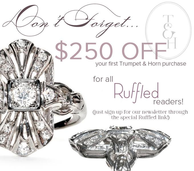 Ruffled Newsletter Sign-Up Promotion
