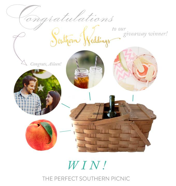 T&H & Southern Weddings Magazine Giveaway Winner!