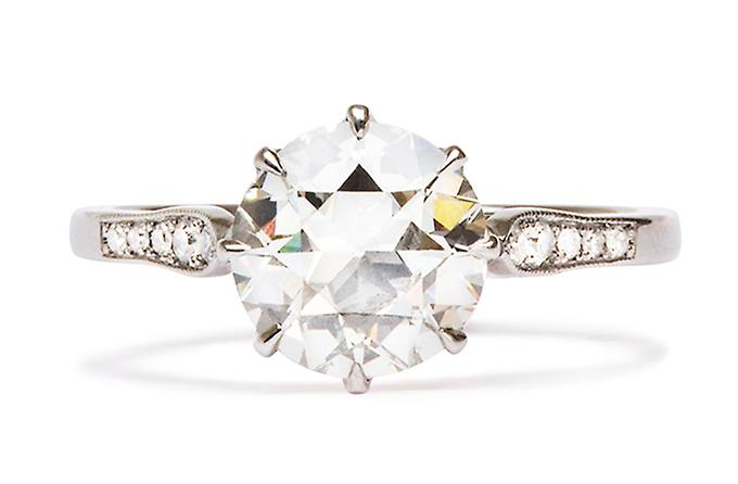 Friday Favorite: Trinity Vintage Engagement Ring