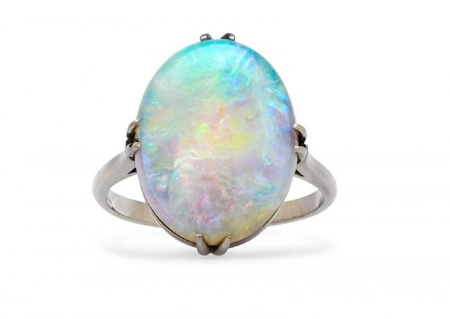 Friday Favorite: Edwardian Oval Opal Ring