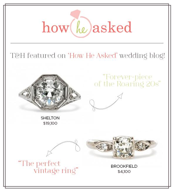 Shelton & Brookfield Featured on How He Asked!
