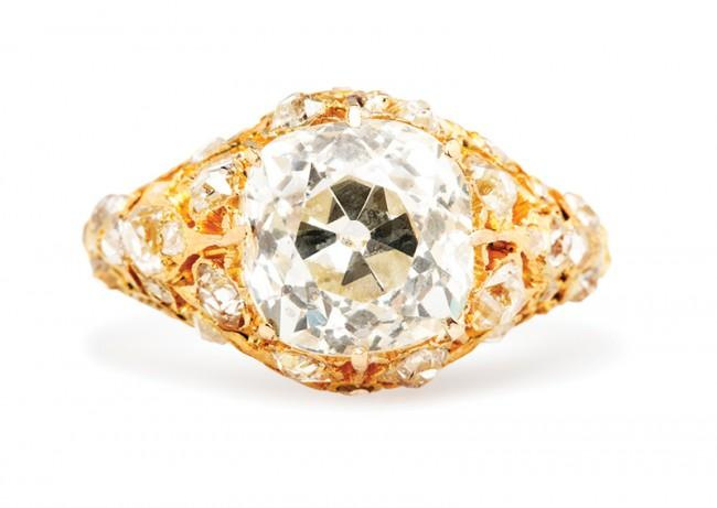 Friday Favorite:  Wakefield Victorian Diamond Engagement Ring