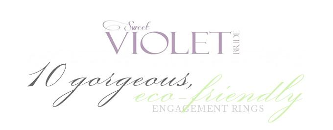 Huntsdale Vintage Engagement Ring Featured on Sweet Violet Bride!