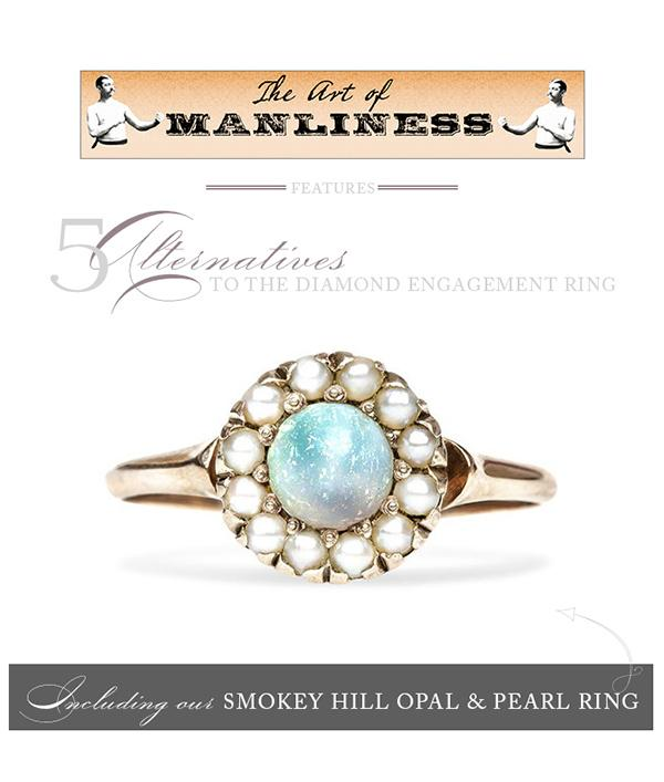T&H Opal Ring Featured on The Art of Manliness!