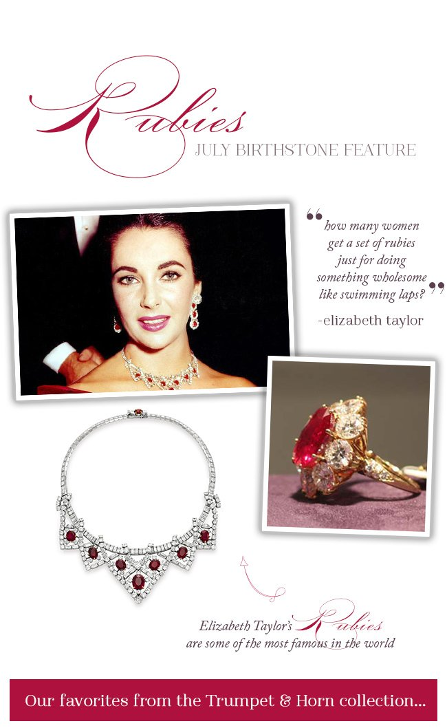 Our Favorite Vintage Rubies