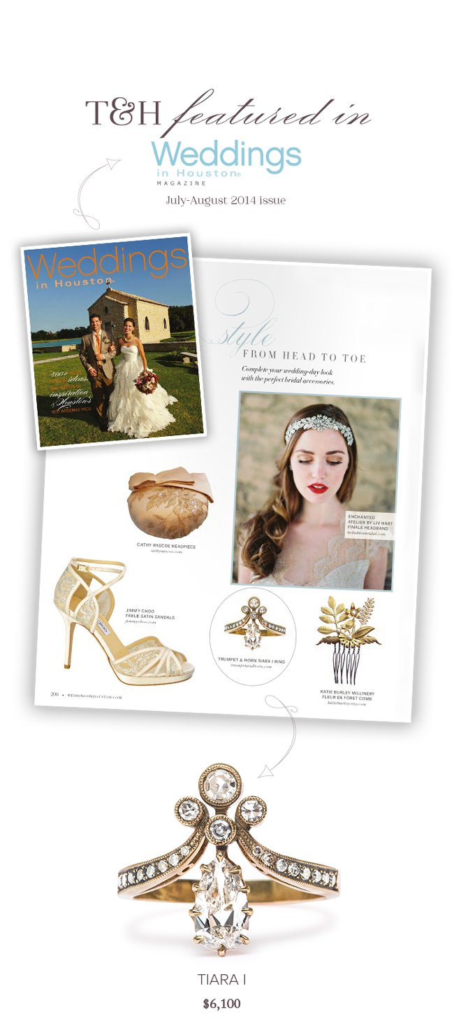 T&H Featured in Weddings in Houston!