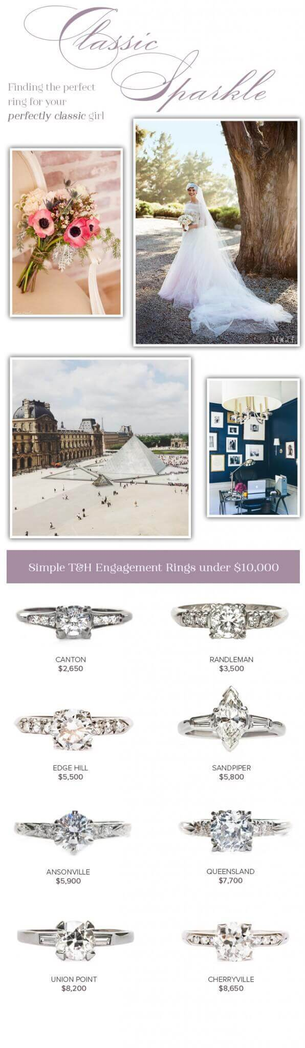 Vintage Classic Engagement Rings