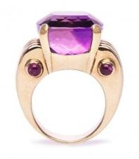 The Amethyst Engagement Ring: For Women with Royal Leanings