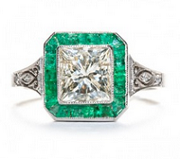 The Emerald City: Live in Color with Emerald Engagement Rings