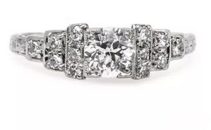 Art Deco Engagement Rings Make a Comeback