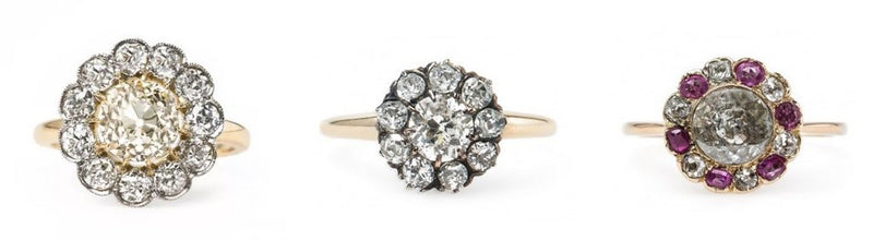 Celebrate Summertime with a Diamond Flower Ring