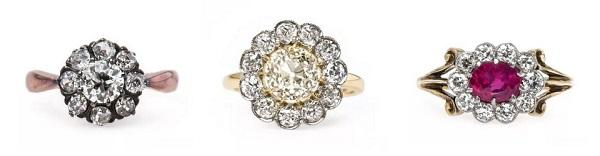 Treat Yourself to a Piece of Old World Charm with Our Vintage Flower Rings