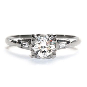 4 Platinum Engagement Rings we Love