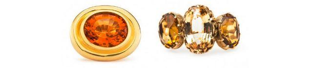 Discover the Unique Beauty of the Vintage Citrine Engagement Ring