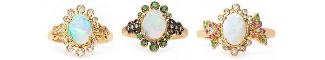 The Opal Engagement Ring: Fit for the Hopeless Romantic