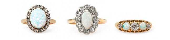 Vintage Opal Rings: Discover This Versatile Stone