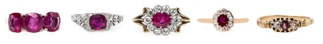 Love Is in the Air: Pink Gemstone Rings for Valentine's Day