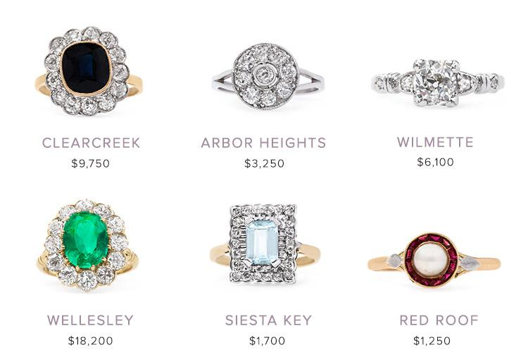 Vintage Engagement Rings: April 19