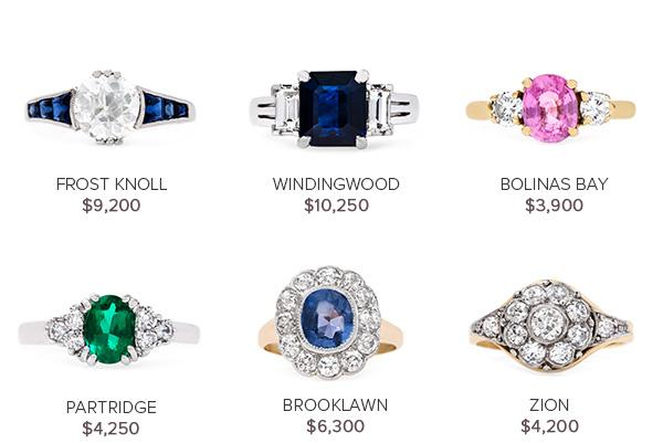 Vintage Engagement Rings: May 10