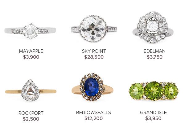 Vintage Engagement Rings May 24