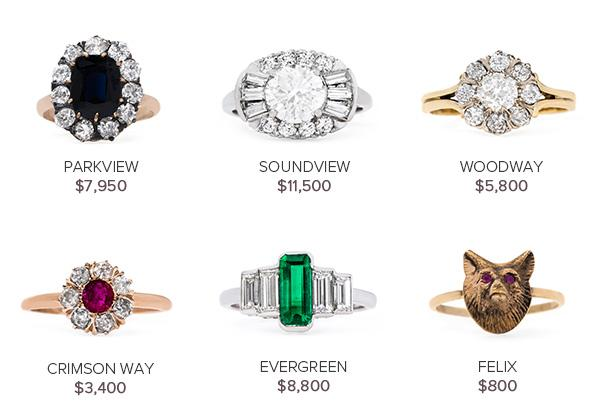 Vintage Engagement Rings May 3