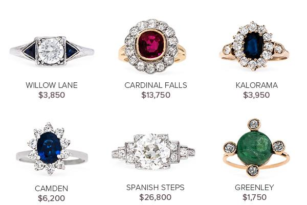 Vintage Engagement Rings: May 17
