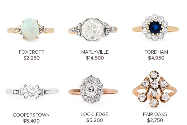 Vintage Engagement Rings June 7