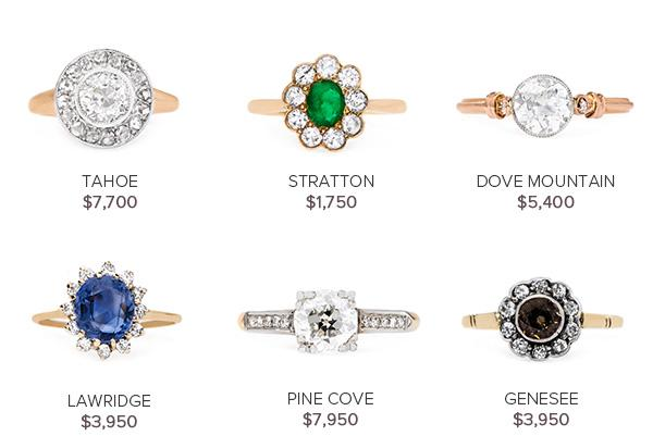 Vintage Engagement Rings June 21