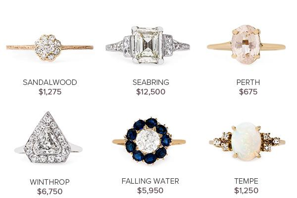Vintage Engagement Rings August 2
