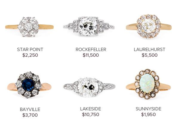 Vintage Engagement Rings August 9
