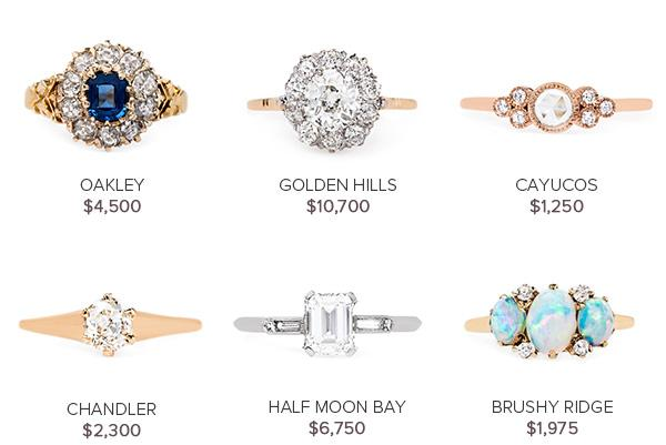 Vintage Engagement Rings August 23