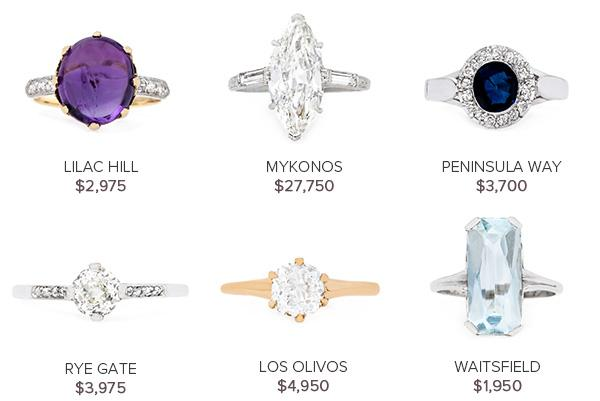 Vintage Engagement Rings September 13