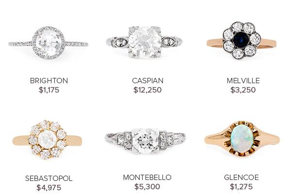 Vintage Engagement Rings September 6