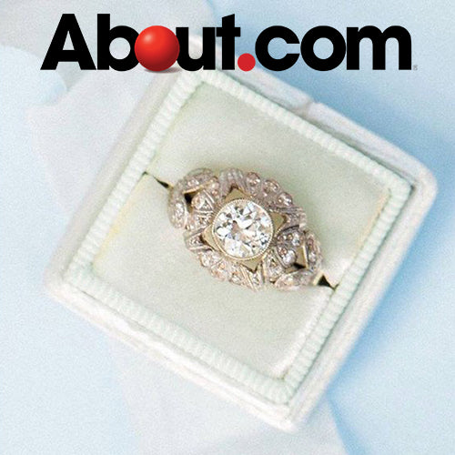 about.com engagement ring trends