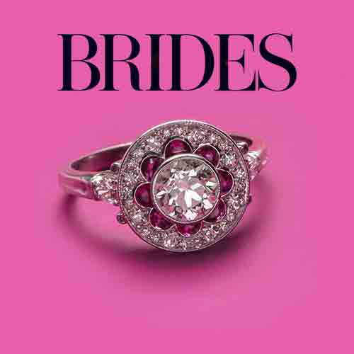 Brides.com Features T&H Ruby Engagement Rings!