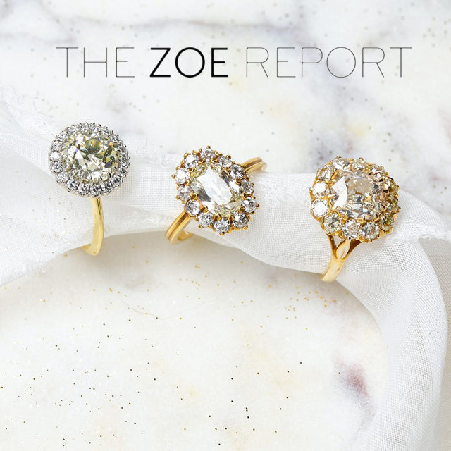 The Zoe Report: 6 Vintage Engagement Ring Trends To Shop, According To Experts