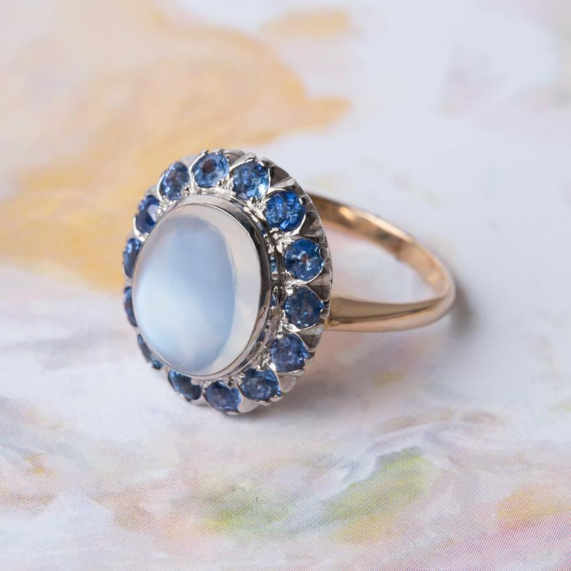 Discovering the Mysterious Moonstone Antique Ring