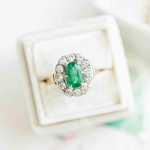 St. Patrick's Day Inspired Rings